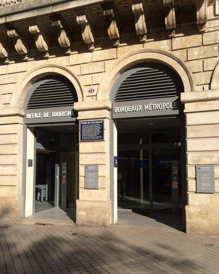 Office de tourisme des congr s de bordeaux m tropole - Office de tourisme bordeaux horaires ...